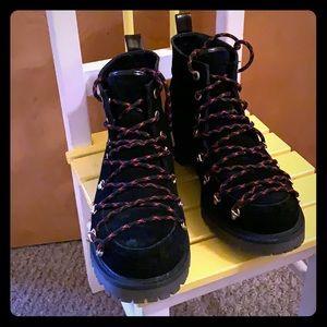 Size 9 Sam Edelman black work boot